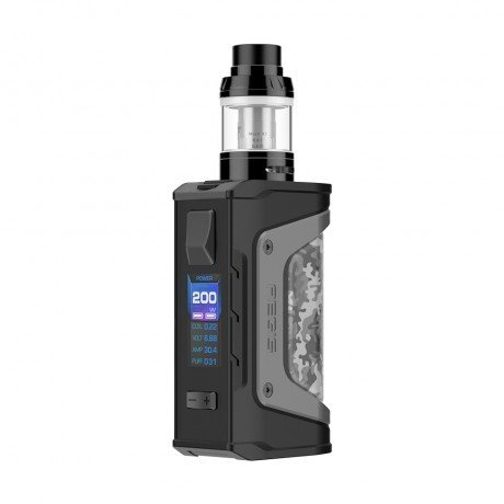 Geekvape Aegis Legend 200W TC Kit with Aero Mesh Version (Camo, 4ml)