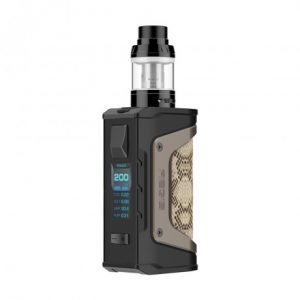Geekvape Aegis Legend 200W TC Kit with Aero Mesh Version (Snake Skin, 4ml)