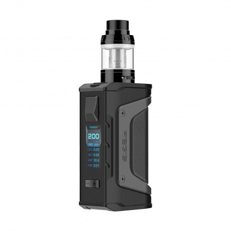 Geekvape Aegis Legend 200W TC Kit with Aero Mesh Version (Stealth Black, 4ml)